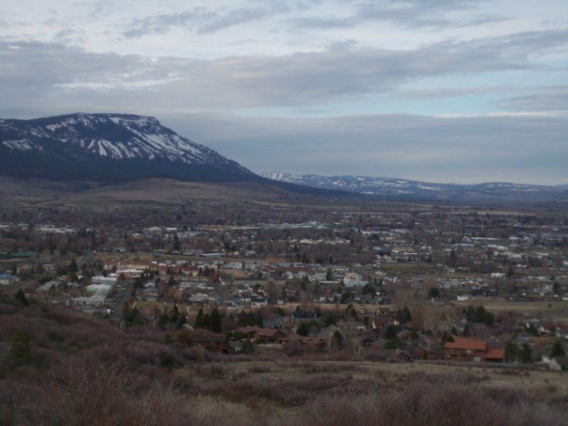 La Grande, Oregon with Mt. Emily